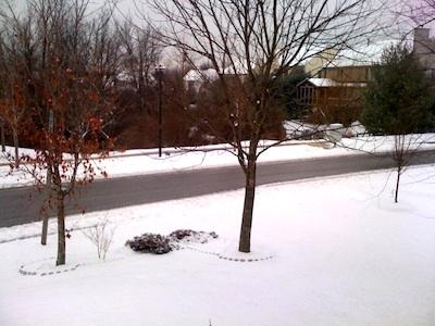 Snow Dec. 31